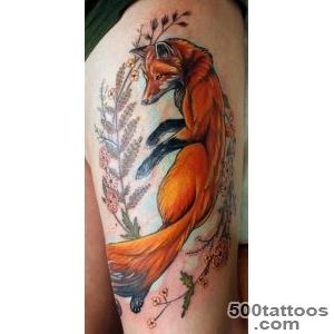 45 Fox Tattoos (Eye Catching amp Unique Designs)_3