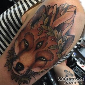 45 Fox Tattoos (Eye Catching amp Unique Designs)_24