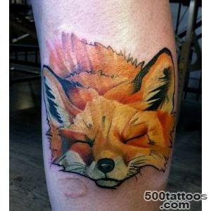 50+ Examples of Fox Tattoo  Art and Design_5