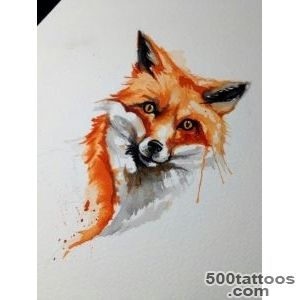 1000+ ideas about Watercolor Fox Tattoos on Pinterest  Fox _19