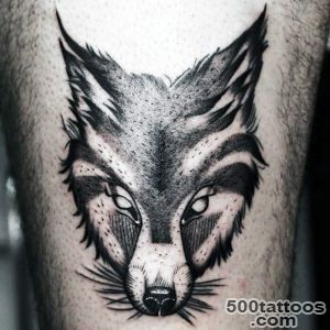 Fox Tattoo Designs For Men   Sly Ink Inspiration_34