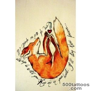 Fox tattoo on Pinterest  Fox Tattoos, Fox Tattoo Design and Foxes_31