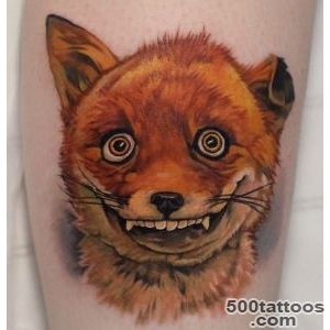 Goofy Fox  Best tattoo ideas amp designs_9
