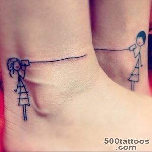 88 Best Friend Tattoos for BFFs_1