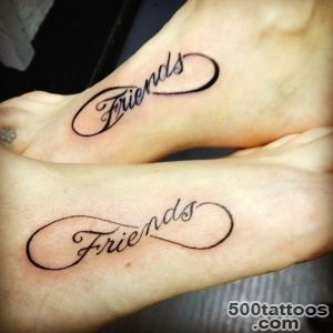 88 Best Friend Tattoos for BFFs_2