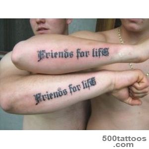 90 Great Best Friend Tattoos — Friendship Inked In Skin_22