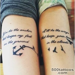 Top 20 Best Friend Tattoos and Designs  Tattoos Beautiful_15