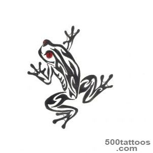 Frog tattoo design, idea, image