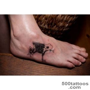 30 Brilliant Frog Tattoos   SloDive_39
