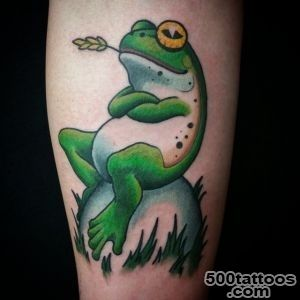 60 Lucky Frog Tattoos_1