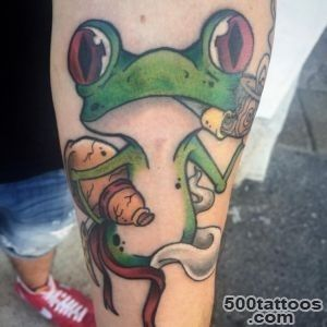 60 Lucky Frog Tattoos_15