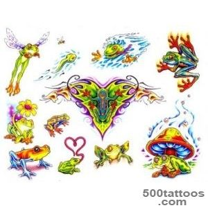 Frog Tattoos, Designs And Ideas  Page 5_16
