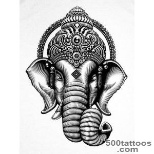 11 Ganesha Tattoo Designs, Ideas And Samples_4