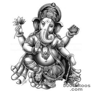 1000+ ideas about Ganesha Tattoo on Pinterest  Tattoos, Elephant _1