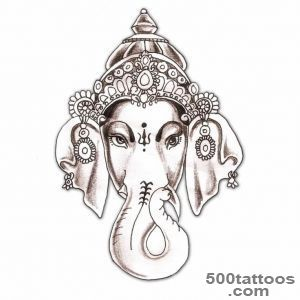 Dancing Ganesha Tattoo On Forearm   Tattoes Idea 2015  2016_9