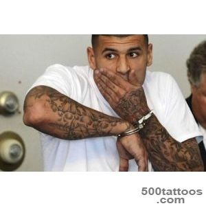 Ink Murder Link Prosecutors Eye Aaron Hernandez#39s Tattoos   NBC News_42