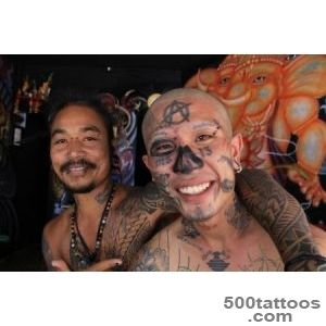 Skin Deep Phi Phi#39s Bamboo zling Tattoo Industry  Sleepless in _46