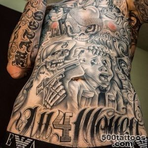 full body gangster tattoos   Age Less Art Tattoos_33