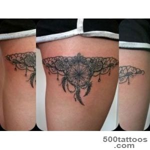 7+ Feather Garter Tattoos_9