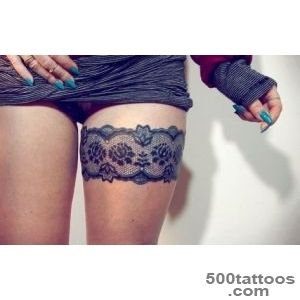 23+ Beautiful Garter Tattoos_1