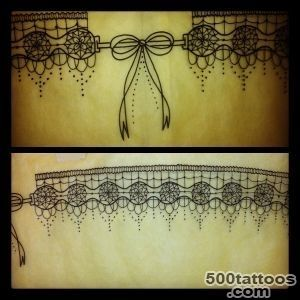 jarreti?re tattoo on Pinterest  Garter Tattoos, Lace Tattoo and _47JPG
