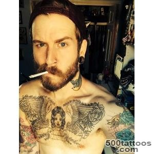 gay tattoos tattoo Smoking boy bear man dork straight snapback _36