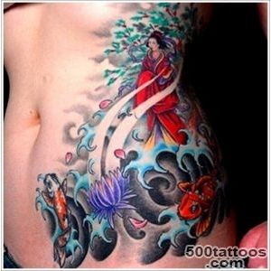 45 Traditional Geisha Tattoo that Inspire your Artistic Side_40
