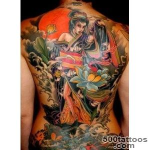 50+ Beautiful Geisha Tattoos  Art and Design_36