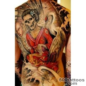 52 Japanese Geisha Tattoo Designs and Drawings with Images _42