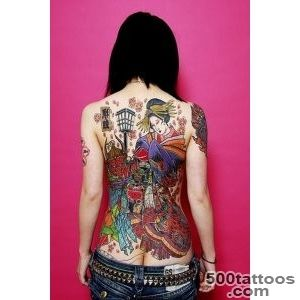 128 Best Geisha Tattoos_37