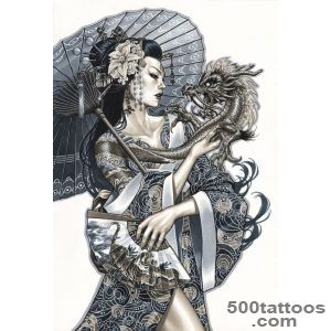 1000+ ideas about Geisha Tattoos on Pinterest  Geisha Tattoo _4