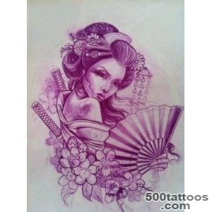 geisha tattoo ideas on Pinterest  Geisha Tattoos, Geishas and _8
