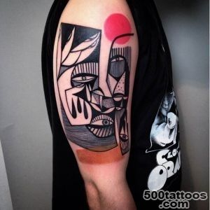 Cubism and Tattoo – The creations of German tattoo artist Peter _25