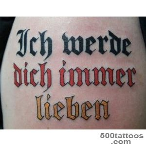 Lou#39s Tattoos Clearwater Florida   German lettering Olde English _16
