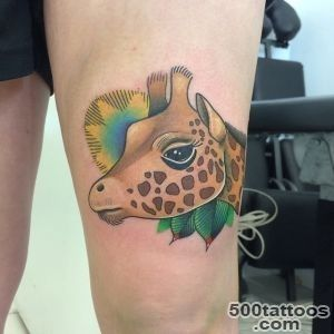 50+ Elegant Giraffe Tattoo Meaning and Designs   Wild Life on Your _13