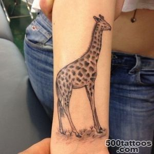 50+ Elegant Giraffe Tattoo Meaning and Designs   Wild Life on Your _20