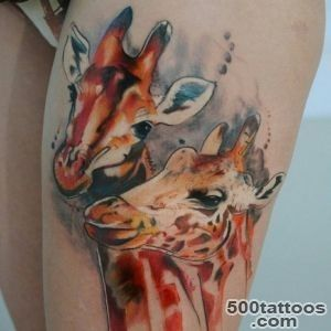 50+ Elegant Giraffe Tattoo Meaning and Designs   Wild Life on Your _33