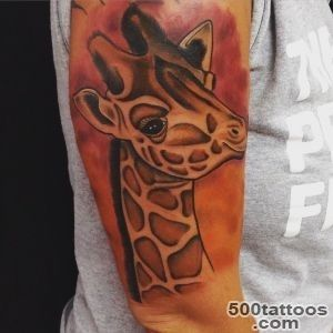50+ Elegant Giraffe Tattoo Meaning and Designs   Wild Life on Your _36