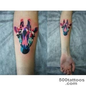 Giraffe tattoos! on Pinterest  Giraffe Tattoos, Giraffes and _25
