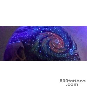 60 Glow In The Dark Tattoos For Men   UV Black Light Ink Designs_50