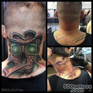 Glow skull tattoo by Mike DeVries  Tattoos_28