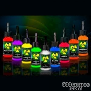 UV blacklight tattoo ink Invisible Fallout in 12 or 1oz bottle_38