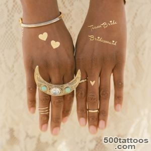 Create your own wedding flash tattoo!  Gold Ink Tattoo_24