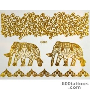 Popular items for gold foil tattoo on Etsy_45