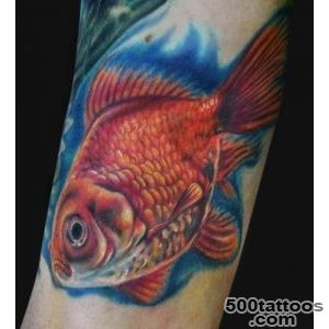 Gorgeous Goldfish Tattoos « Tattoo Articles « Ratta Tattoo_2