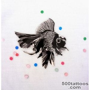 Pin Black Moor On Pinterest Goldfish Tattoo Fish Tattoos And on _19