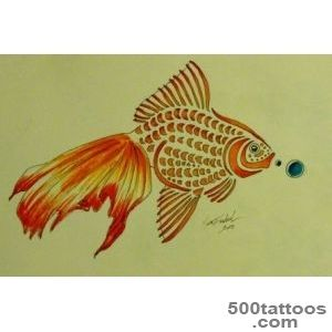 Pin Goldfish Tattoos Google Search More Animal Tattoo Inspiration _39