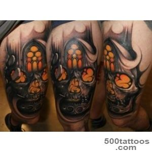 32+ Latest Gothic Tattoos_33