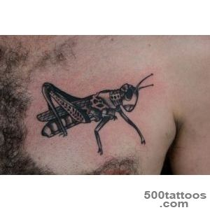 biomech grasshopper tattoo  I tattoo at Tattoo Boogaloo, 52…  Flickr_7