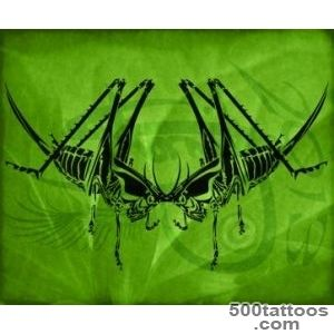 DeviantArt More Like Grasshopper Tribal Tattoo Design by Amoebafire_29